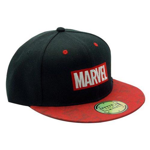 Cappello con visiera stampata Marvel