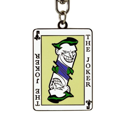 Portachiavi in Metallo Joker Comics dettaglio