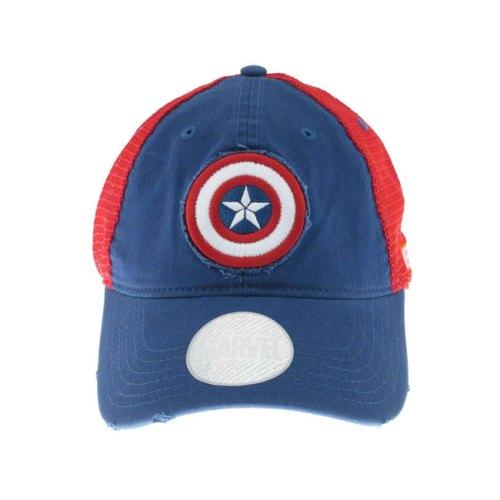 Cappello con visiera Capitan america scudo Marvel