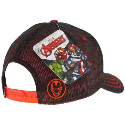 Cappello con visiera Iron Man Marvel dettaglio retro