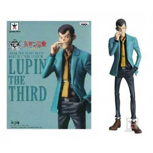 Figure Lupin the Third Blue Jacket Banpresto