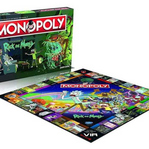 Monopoly Edizione Rick and Morty