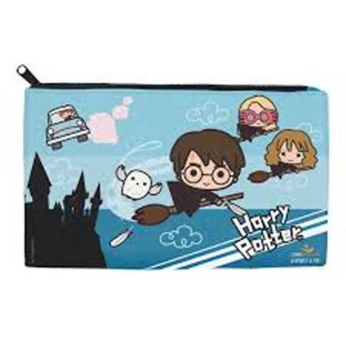 Set Astuccio 4 Matite con gomma e temperino Hogwarts Harry Potter dettaglio astuccio
