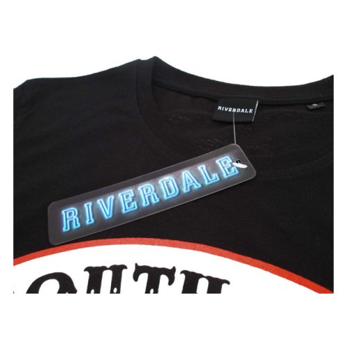 T-shirt Riverdale South Side Serpent stampa grande dettaglio