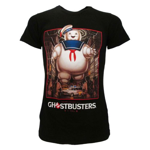 T-shirt Ghostbusters stampa grande