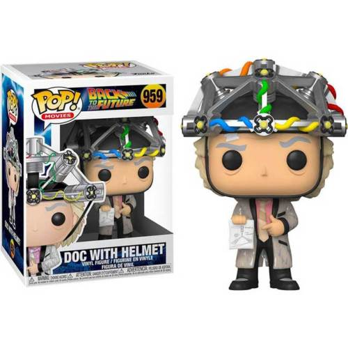 Funko pop Doc with Helmet Back to the Future 959