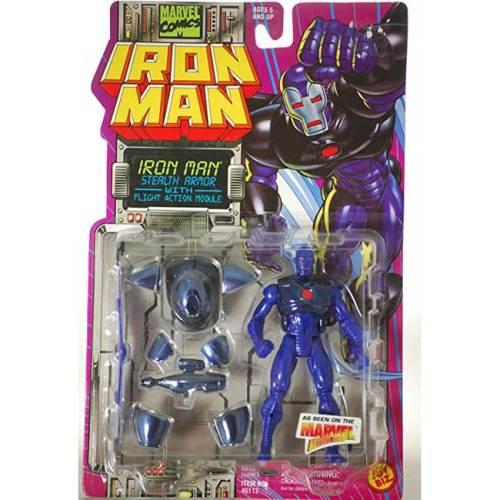 Action Figure Iron Man Stealth Armor Marvel vintage 1996