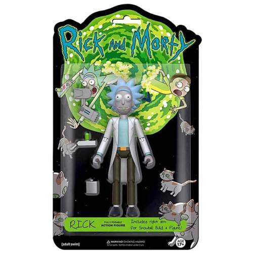 Action Figure Rick 13 cm Rick e Morty