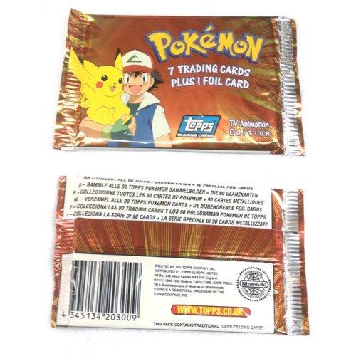 Carte Pokemon Vintage Topps