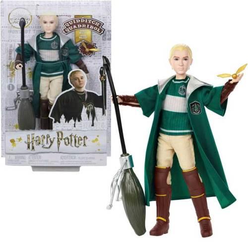 Draco Malfoy Quidditch Mattel con Nibus 2001 e boccino