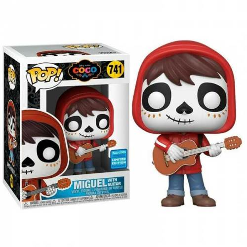 Funko pop Coco Miguel whit guitar 741 Limited Edition exlusive wondrous convention funko 2020