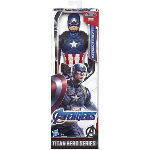 Avengers Endgame Titan Hero Action Figure Captain America 30 cm