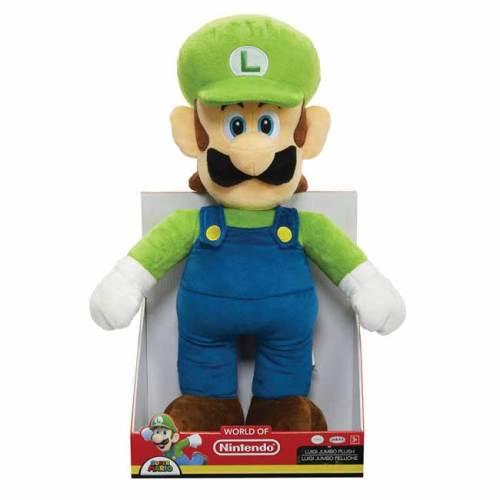 Peluche Luigi Super Mario Bros Nintendo 50 cm