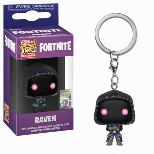 Pocket POP Keychain Portachiavi Raven Fortnite