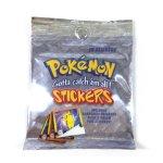 10 Stichers Pokemon Vintage