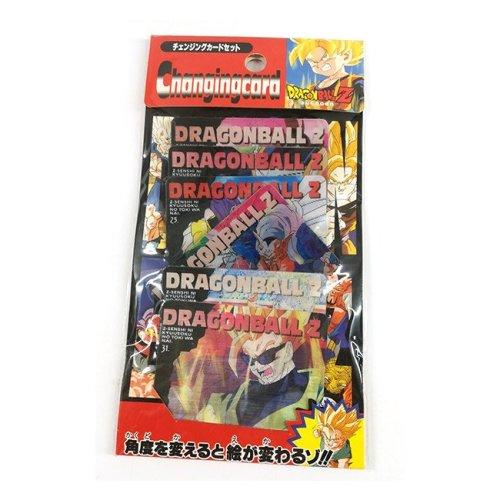 6 Cards lenticolari DragonBall da collezione