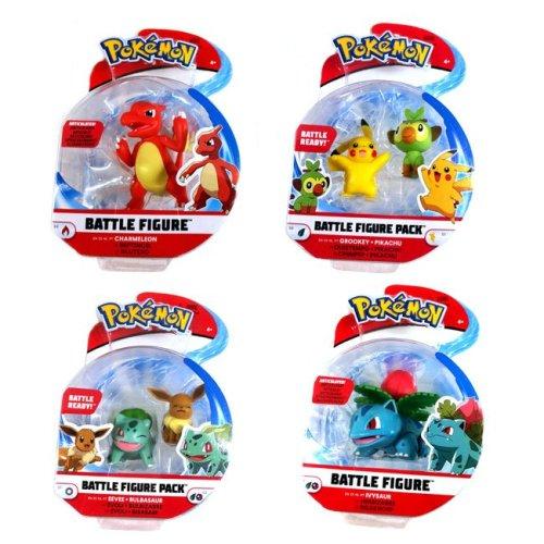 Battle Figure Pokemon modelli assortiti 3-8 cm