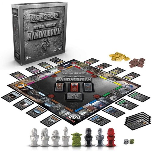 Monopoly Star Wars The Mandalorian versione Italiana