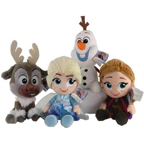 Peluche Frozen 36 cm vari personaggi