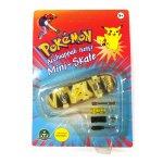 Pokemon mini Skateboard Portachiavi con ruote e accessori