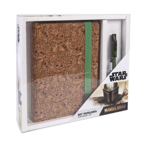 Set Notebook e Penna Star Wars The Mandalorian