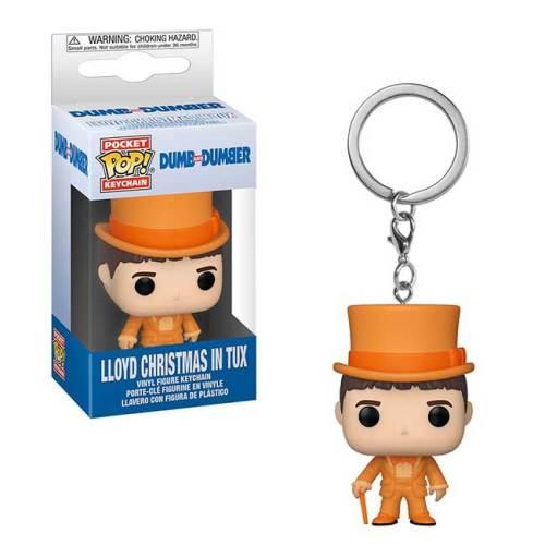 Pocket Pop Keychain Lloyd Christmas in Tux Dumb and Dumb