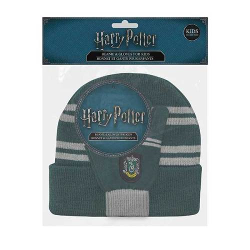 Set Cappello e Guanti Serpeverde Kids Collection Harry Potter