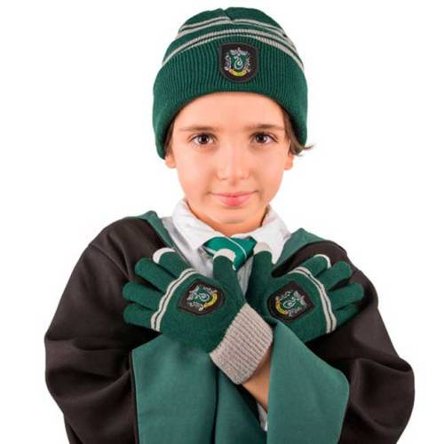 Set Cappello e Guanti Serpeverde Kids Collection Harry Potter