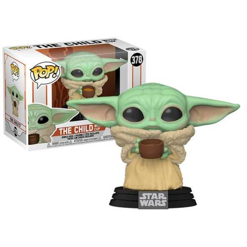 Funko Pop The Child with cup Star Wars The Mandalorian 378