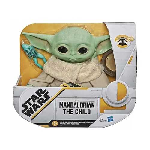 Star Wars The Mandalorian Peluche parlante the Child 19 cm