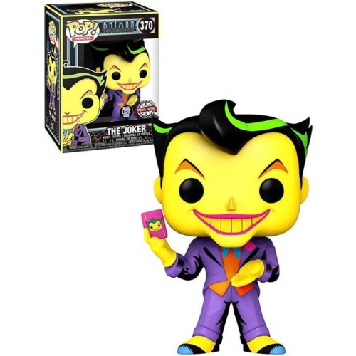 Funko Pop The Joker Batman the animated Series 370 Special Edition Black Light Glow
