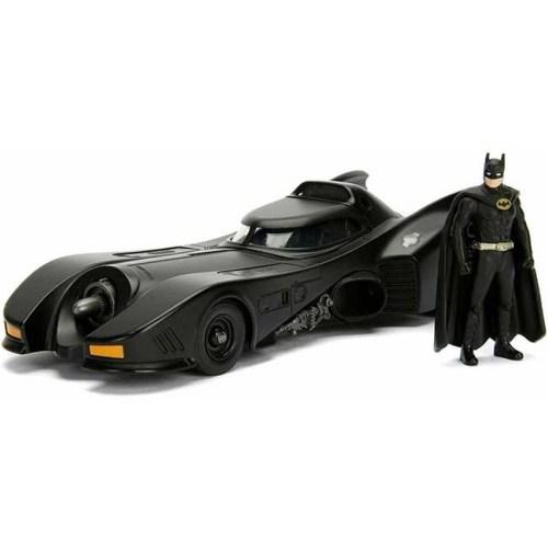 Modellino 1989 Holliwood Rides Diecast Batmobile e Batman 1 a 32
