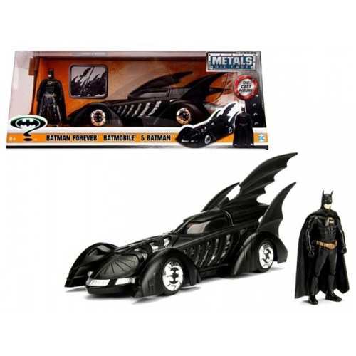 Modellino Batman Forever Batmobile e Batman Die Cast Figure