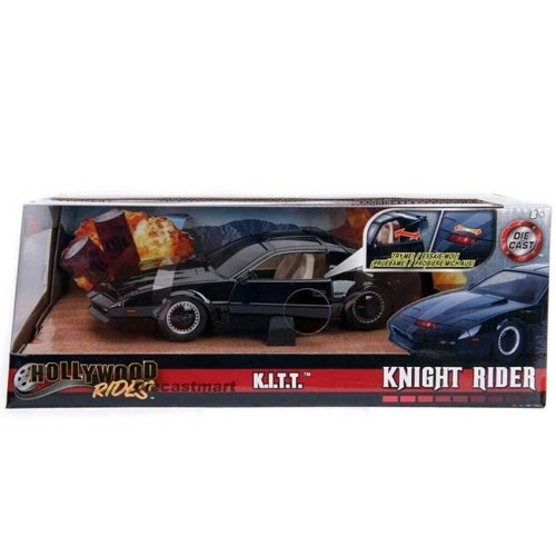 Modellino Knight Rider KITT Super Car Die Cast figure