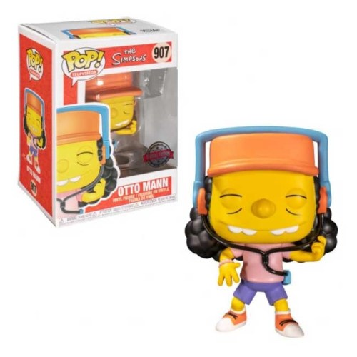 Funko Pop Otto Mann The Simpsons 907 Special Edition
