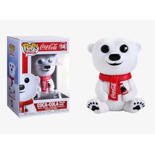 Funko pop Coca Cola Polar Bear 58