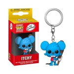 Pocket Pop Keychain Itchy The Simpsons