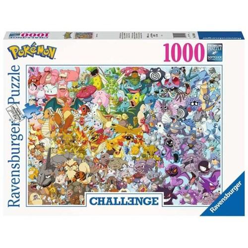 Puzzle Pokemon Ravensburger 1000 pezzi