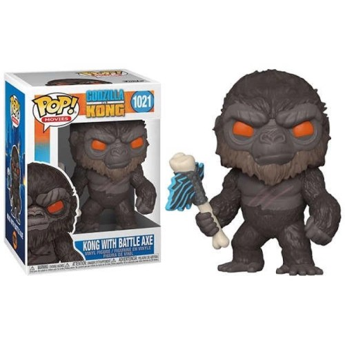 Funko POP Kong whit Battle Axe 1021 Godzilla vs Kong