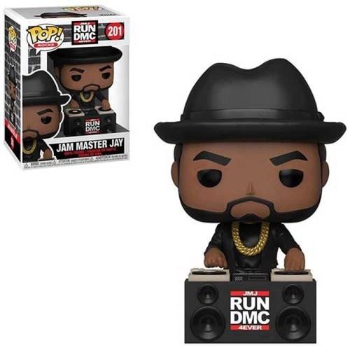 Funko POP Rocks Jam Master JAY 201 RUN DMC