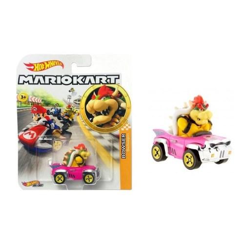 Hot Wheels Super Mario Kart 1 a 64 Bowser 8 cm
