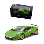 Modellino Macchinina Lamborghini verde metallizzato 1-43 Burago