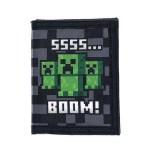 Portafoglio Minecraft SSSS BOOM Creeper