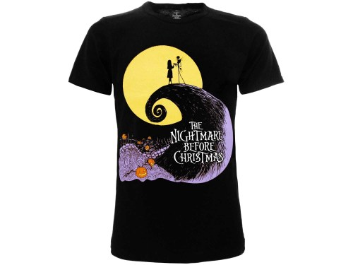 T-Shirt Nightmare Before Christmas fronte