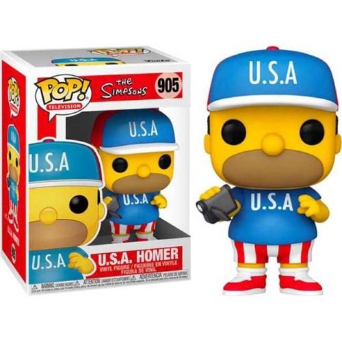 Funko POP U.S.A. Homer 905 The Simpson