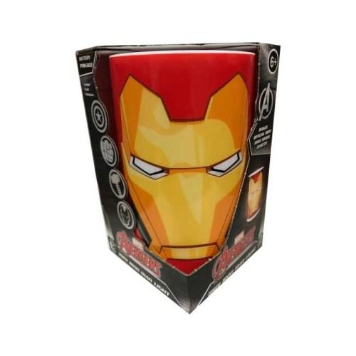 Lampada cilindrica Iron Man con suoni