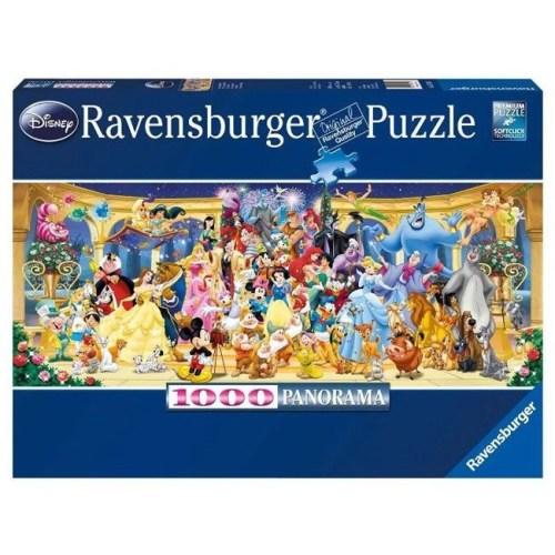 Puzzle Personaggi Disney Ravensburger 1000 pezzi