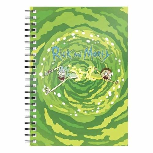 Notebook Rick and Morty Logo Portal
