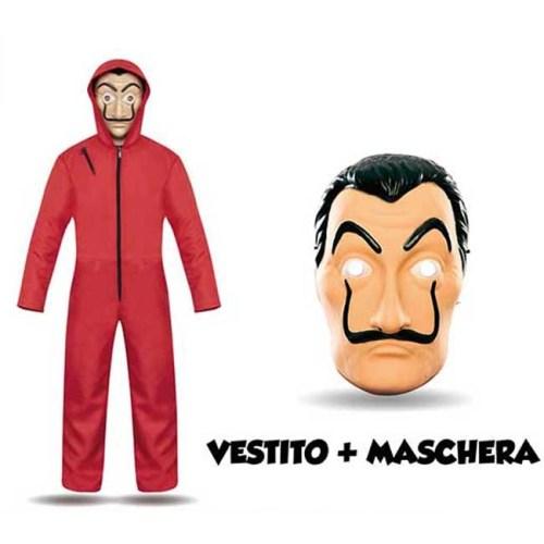 Costume Casa de Papel con maschera Mood