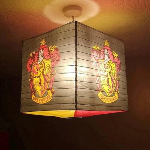 Harry Potter Paper Light Shade Grifondoro 30x30x30cm Paralume in carta